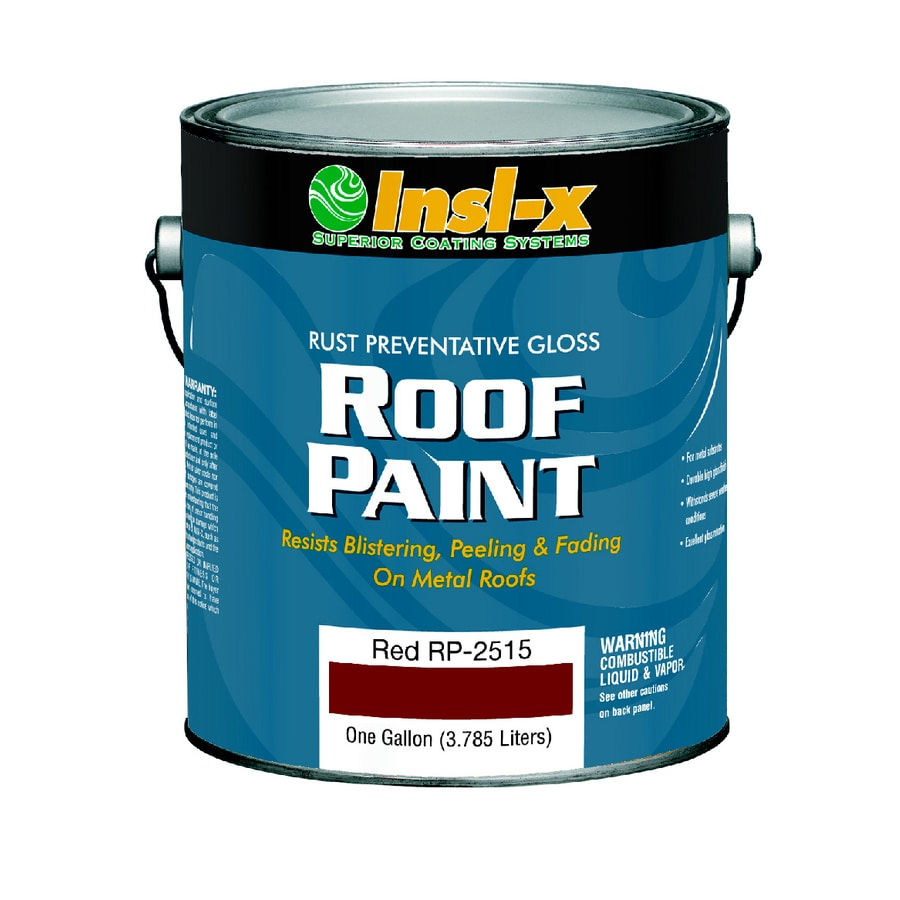 Insl-x 1-Gallon Exterior Gloss Red Oil-Base Paint and Primer in One