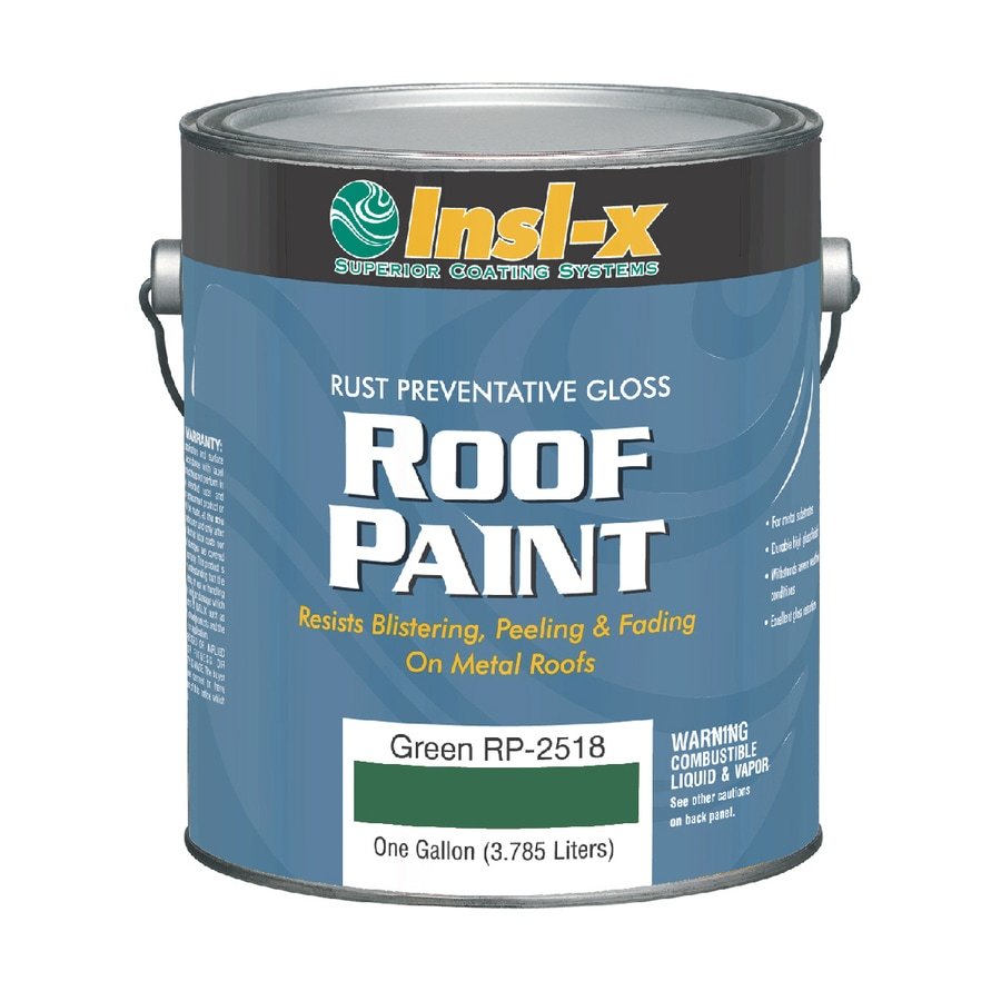 Insl-x 1-Gallon Exterior Gloss Green Oil-Base Paint and Primer in One