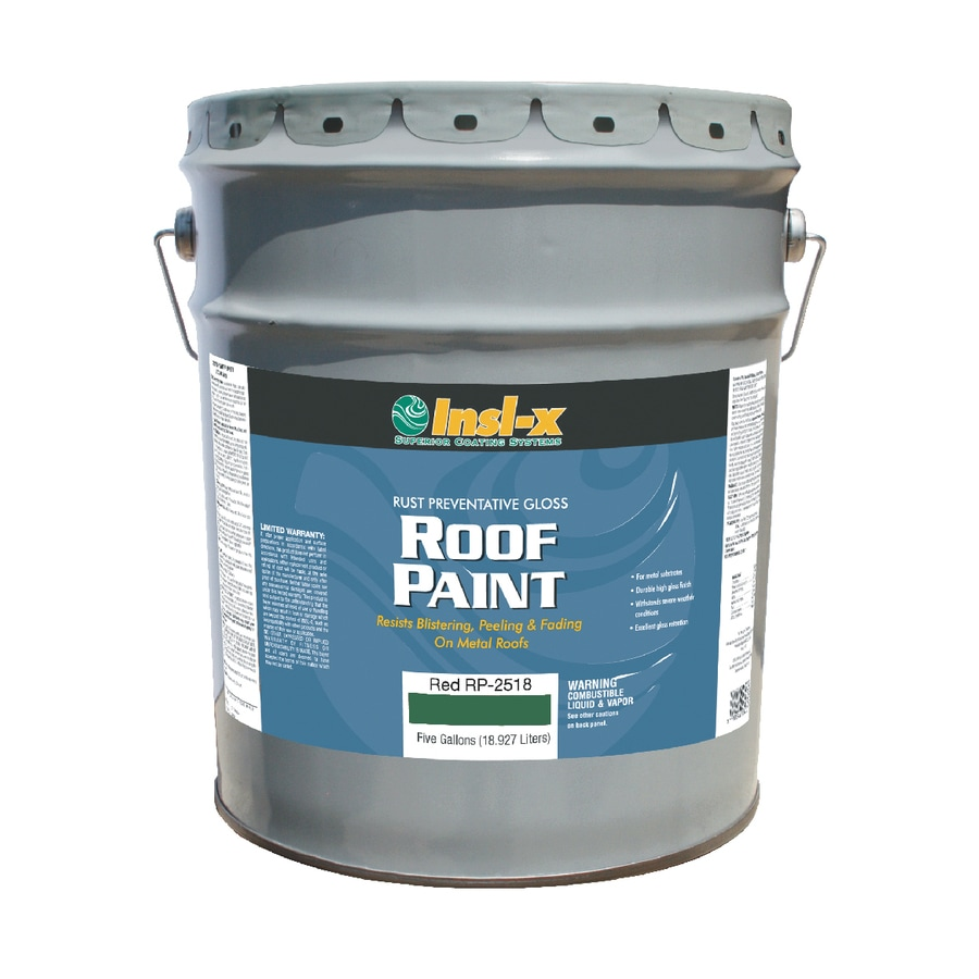 Insl-x 5-Gallon Exterior Gloss Green Oil-Base Paint and Primer in One