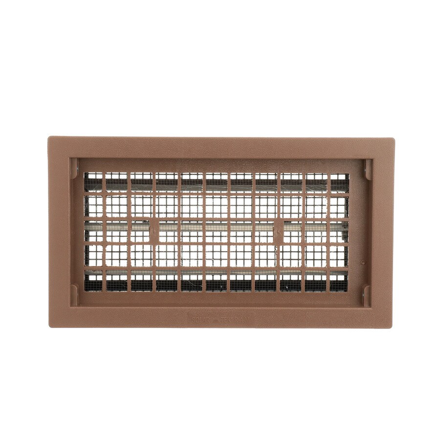 Air Vent 17.5-in x 9.5-in Plastic Foundation Vent