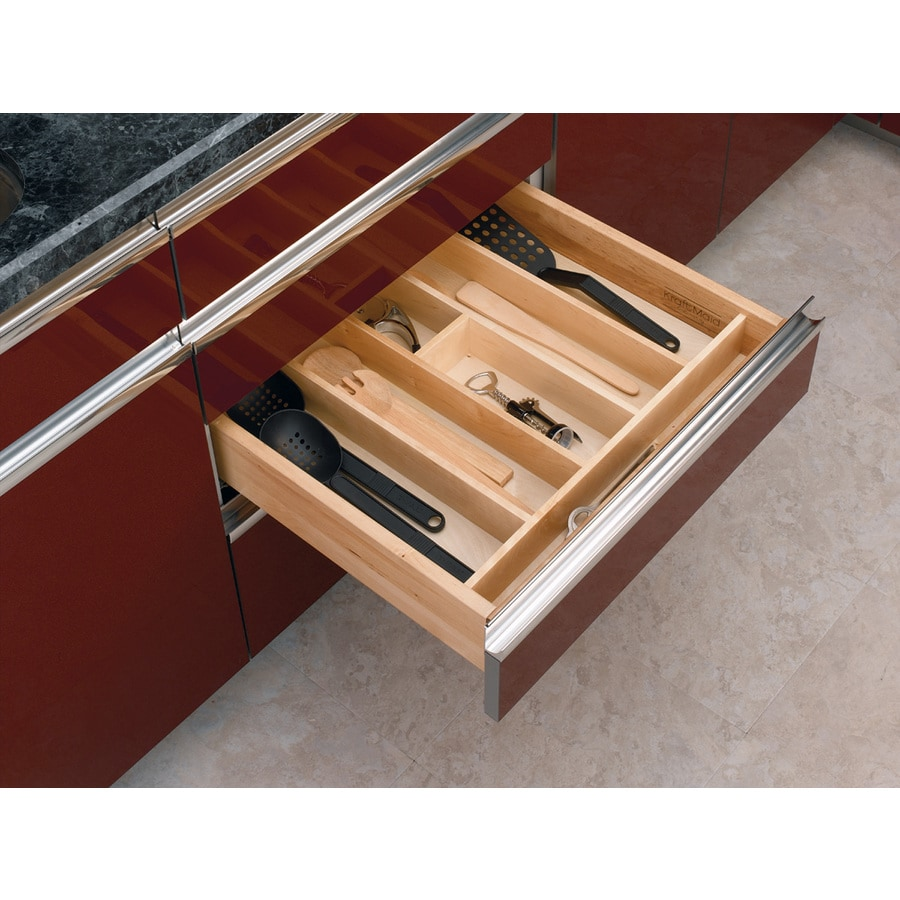drawer utensil with silverware flatware organizer cover lid diy