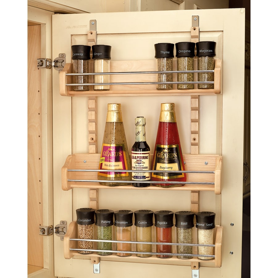 Shop Rev-A-Shelf Wood In-Cabinet Spice Rack at Lowes.com