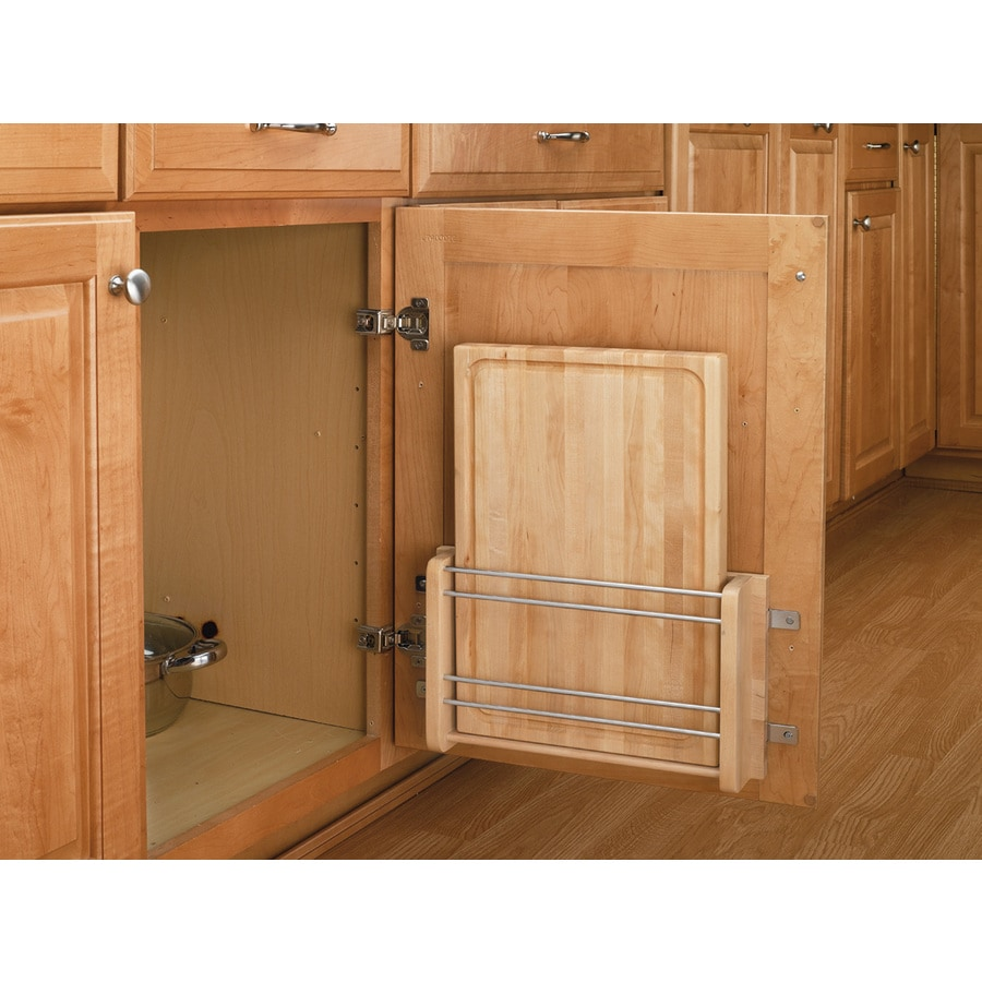 Rev A Shelf Unfinished Natural Cabinet Door Mount Kit At