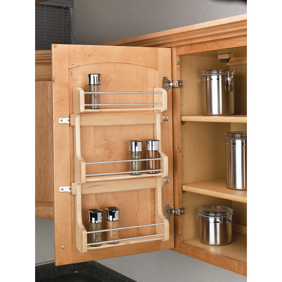 Rev-A-Shelf 12.62-in W X 21.5-in-Tier Door/Wall Mount Wood