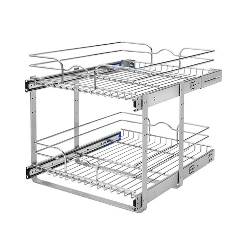2 Tier Pull Out Metal Soft Close