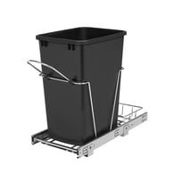 Rev-A-Shelf 35-Quart Plastic Soft Close Pull Out Trash Can Deals