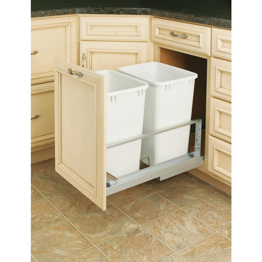 Shop Rev A Shelf Garbage Can At Lowes Com