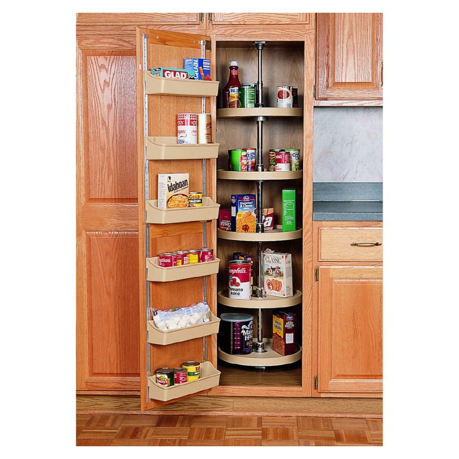 "Kitchen Storage Lowes: Shop Rev-A-Shelf 16"" Full Circle Pantry Cabinet Shelves At"