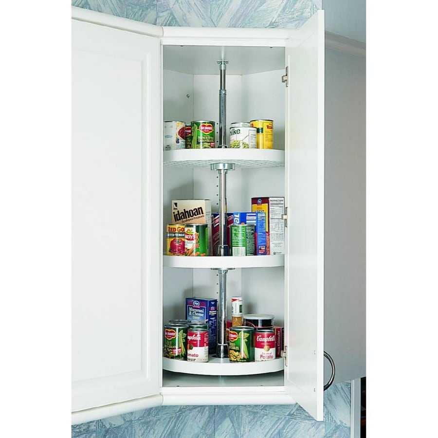 Rev-A-Shelf 3-Tier Plastic Full Circle Cabinet Lazy Susan