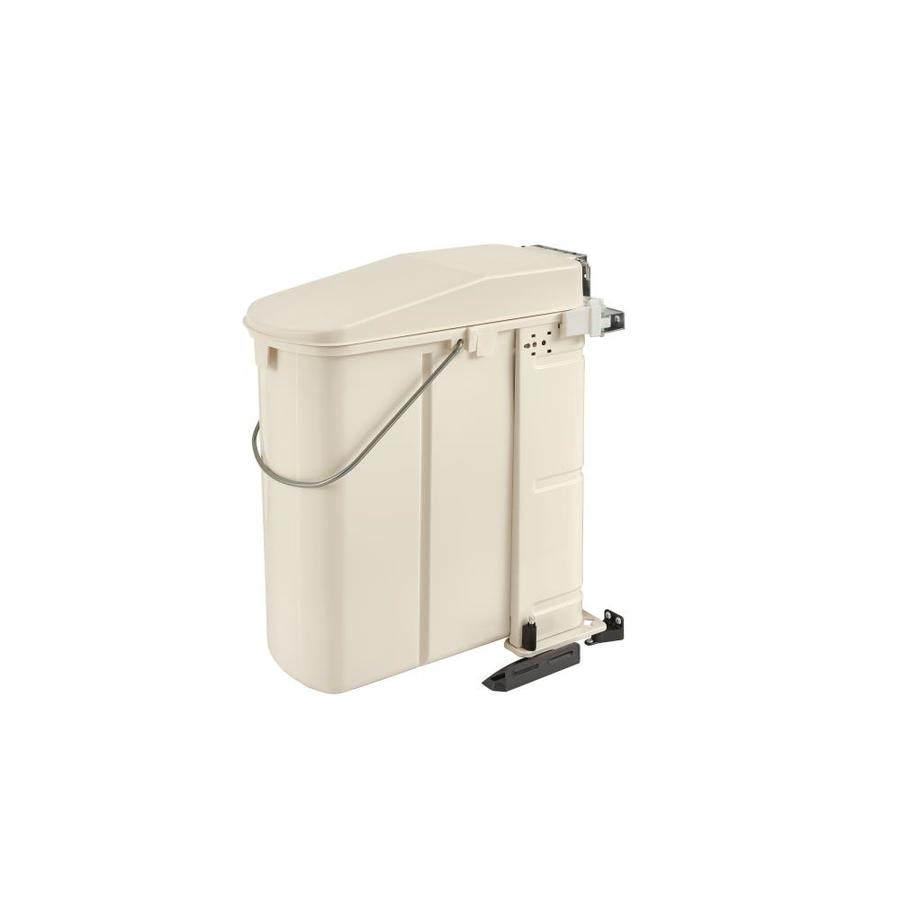Shop Rev A Shelf 6 Quart Plastic Pull Out Trash Can At