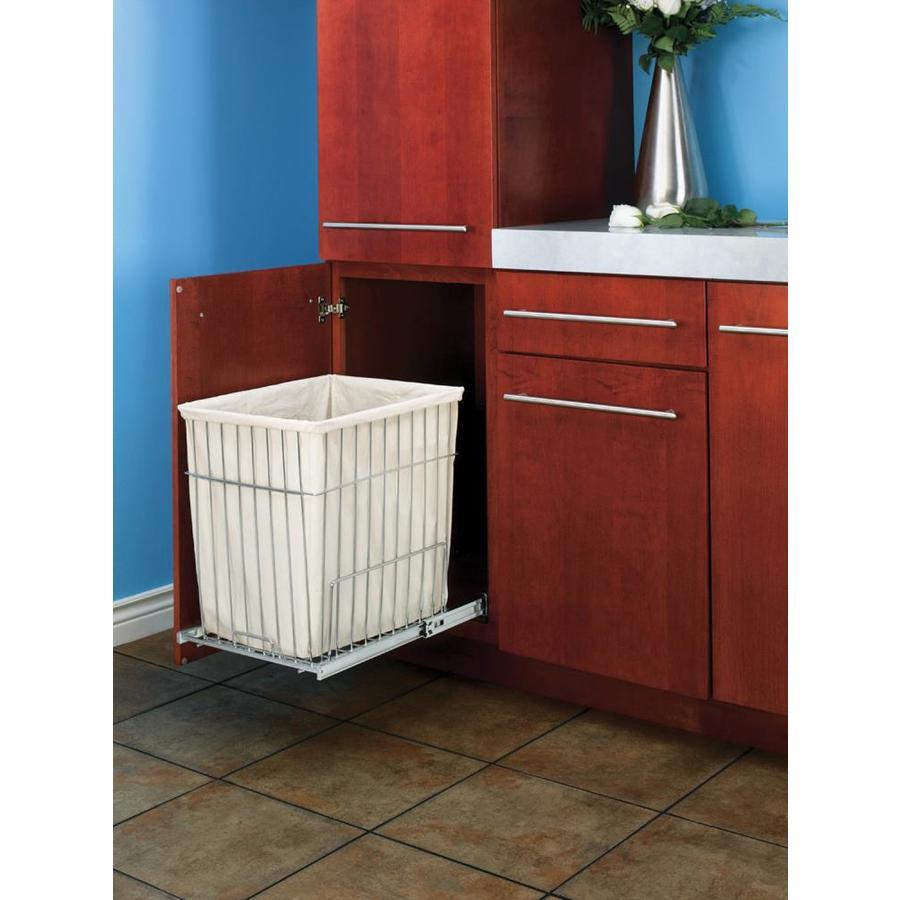 Shop Rev A Shelf 1 Bushel Mixed Materials Clothes Hamper