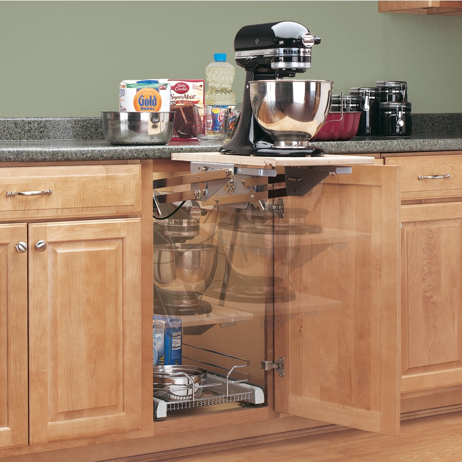Shop Rev-A-Shelf 5-in W X 5-in 1-Tier Pull Out Metal Lift