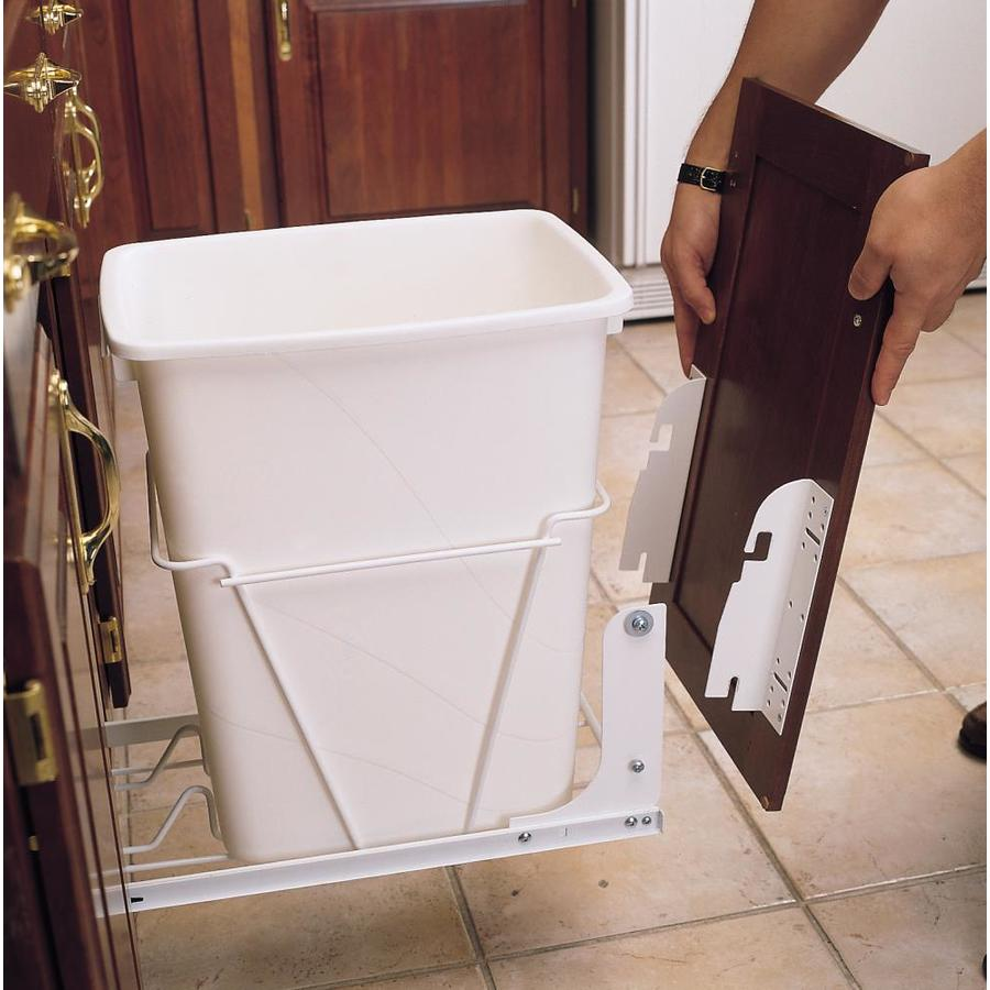 Merveilleux Rev A Shelf Plastic Pull Out Trash Can