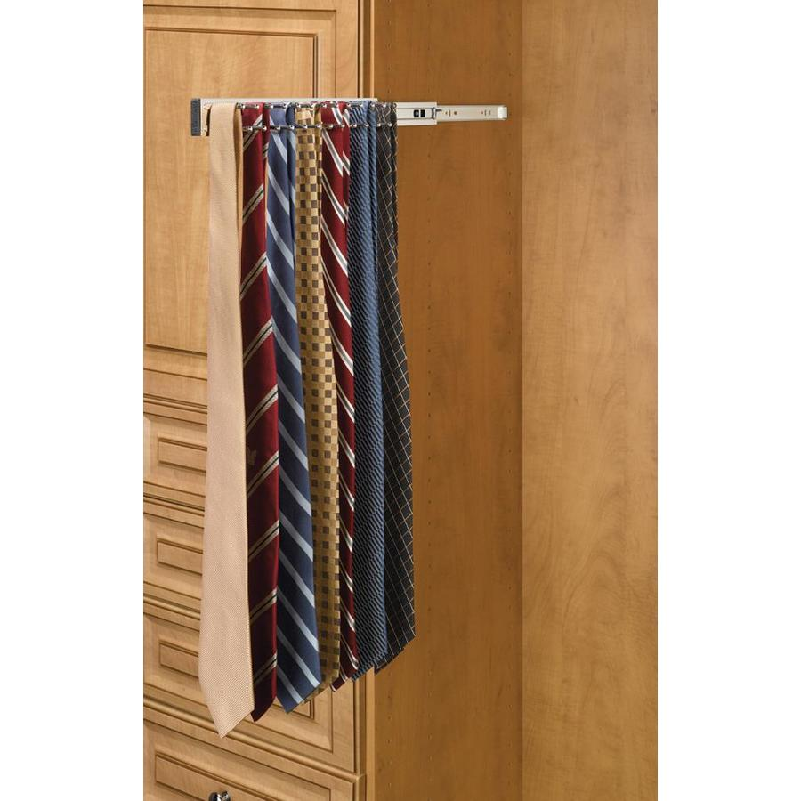 Shop Rev A Shelf 2 In X 2 In X 14 In Chrome Wire Tie