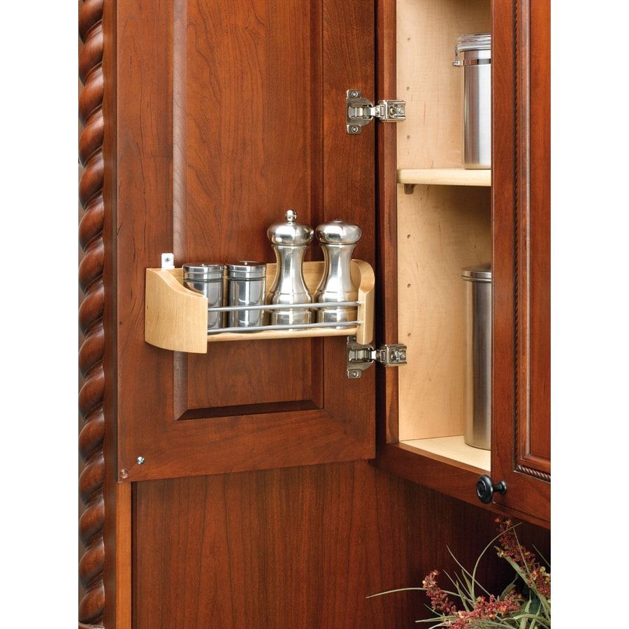 Rev-A-Shelf 19.75-in W x 3.63-in H Cabinet Door Storage Organizer