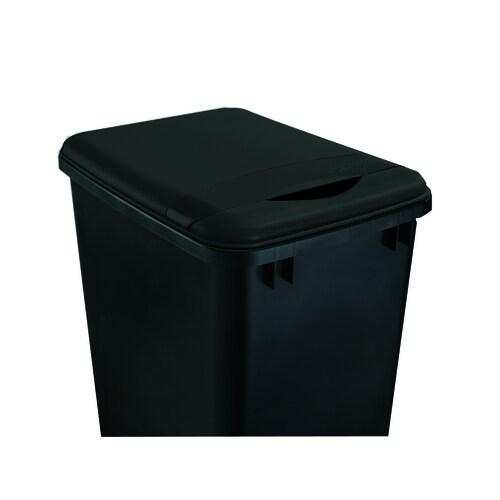 Rev-A-Shelf Black Plastic Kitchen Trash Can Lid at Lowes.com