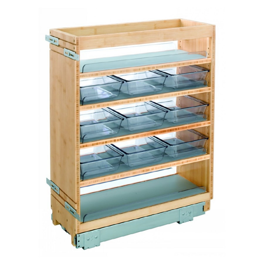 Shop Rev-A-Shelf Vanity Organizer with Adjustable Shelves at Lowes.com
