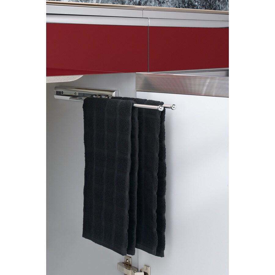 Rev-A-Shelf Chrome Towel Holder
