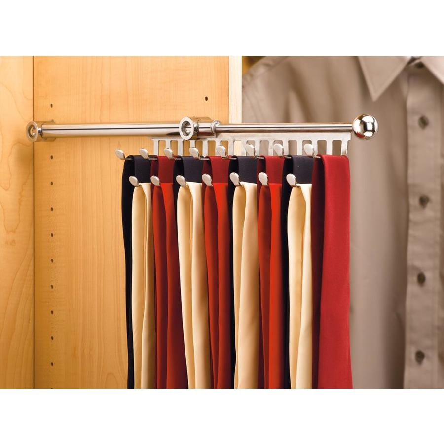 Shop Rev A Shelf Chrome Tie Scarf Rack At Lowes Com