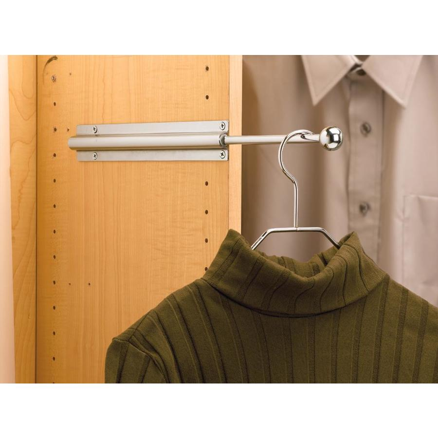Rev A Shelf Chrome Standard Valet Rod