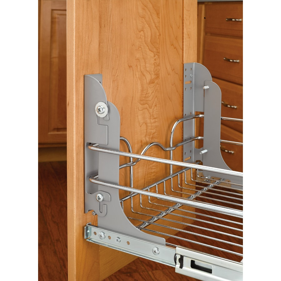 Shop Rev A Shelf 1 In W X 1 In 1 Tier Metal Cabinet Door Mounting