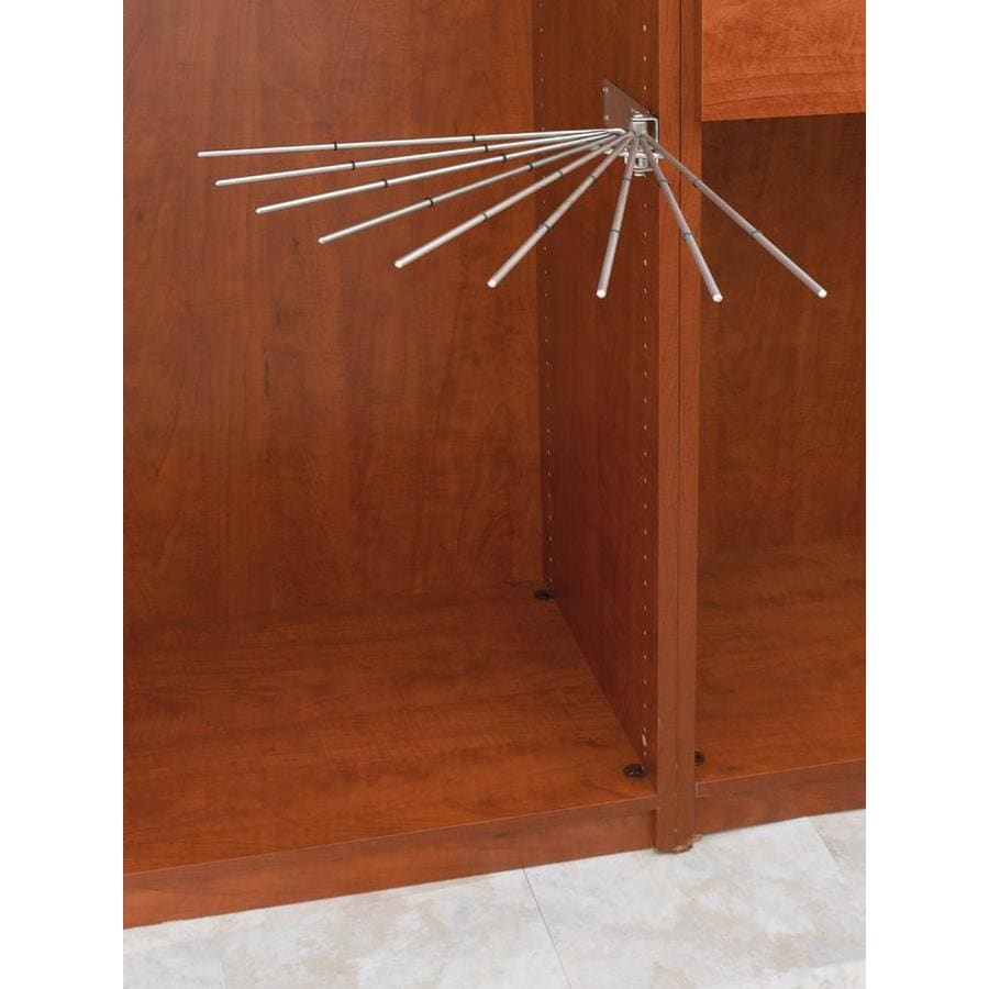 Rev-A-Shelf Satin Nickel Wire Pants Rack