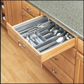 Rev A Shelf 21.25 In X 21.87 In Plastic Cutlery Insert Drawer