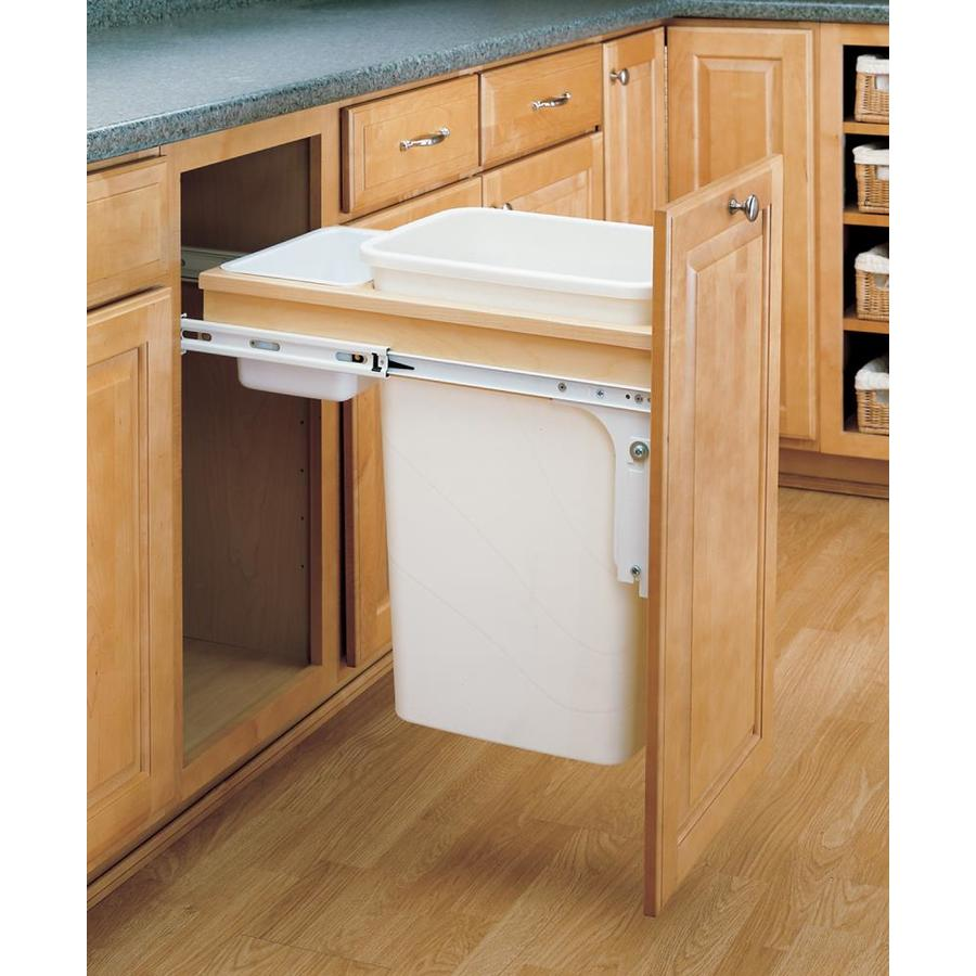 Pull Out Trash Cans For Kitchen Cabinets