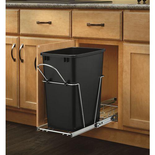 Rev-A-Shelf 35-Quart Plastic Pull Out Trash Can at Lowes.com