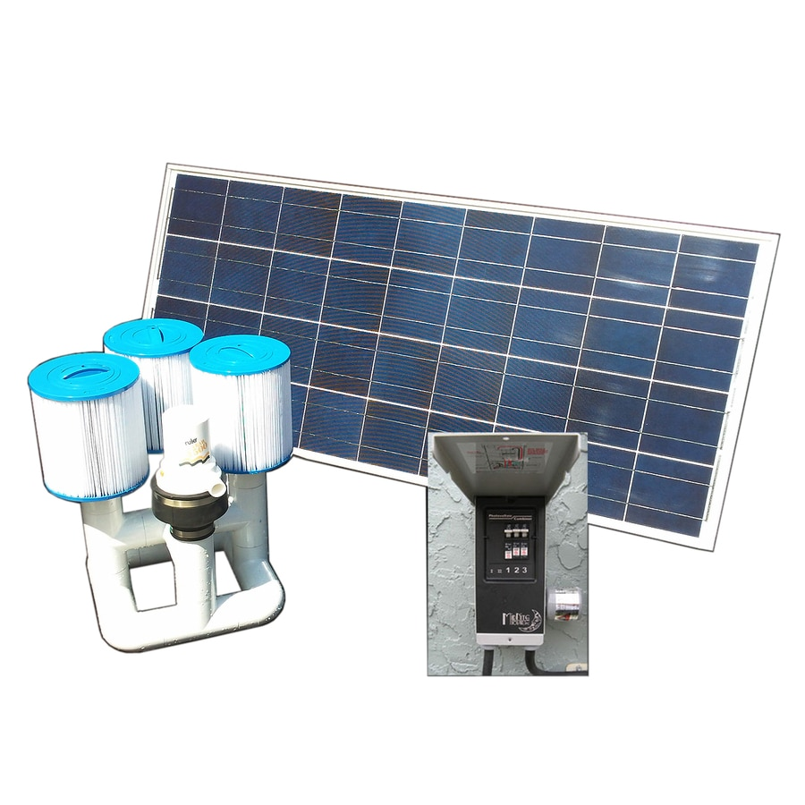 Natural Current Savior Bottom Feeder 15K Solar 0.16 Pool Pump