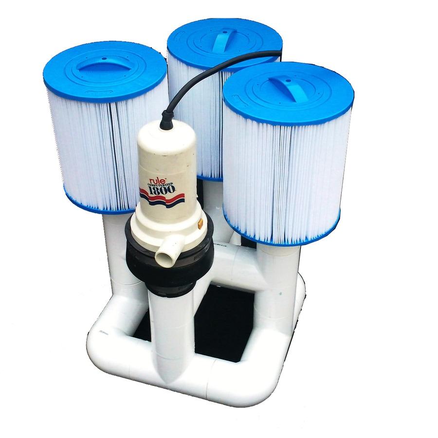 Natural Current Bottom Feeder 18K 110-Volt Plugin 0.3 Pool Pump