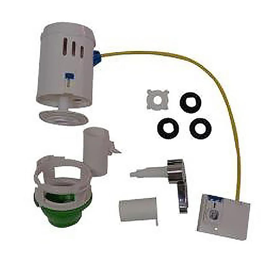 Beau Smarter Flush Smarter Flush Flapper Replacement Kit With Chrome Handle  Including 2 In Rubber Toilet