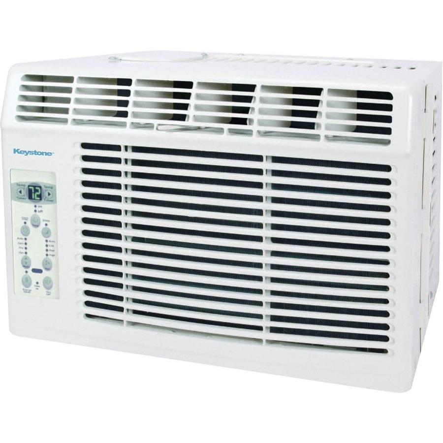 Keystone 5000 Btu 150 Sq.-ft 115 Volts Window Air Conditioner 0 Btu ENERGY STAR