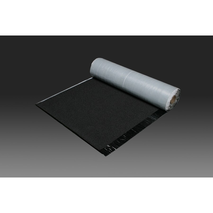 3-ft W x 36-ft L 50-sq ft Black Roll Roofing