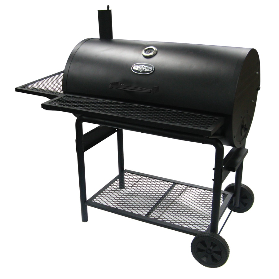 Shop Kingsford 37 5 In Barrel Charcoal Grill At Lowes Com