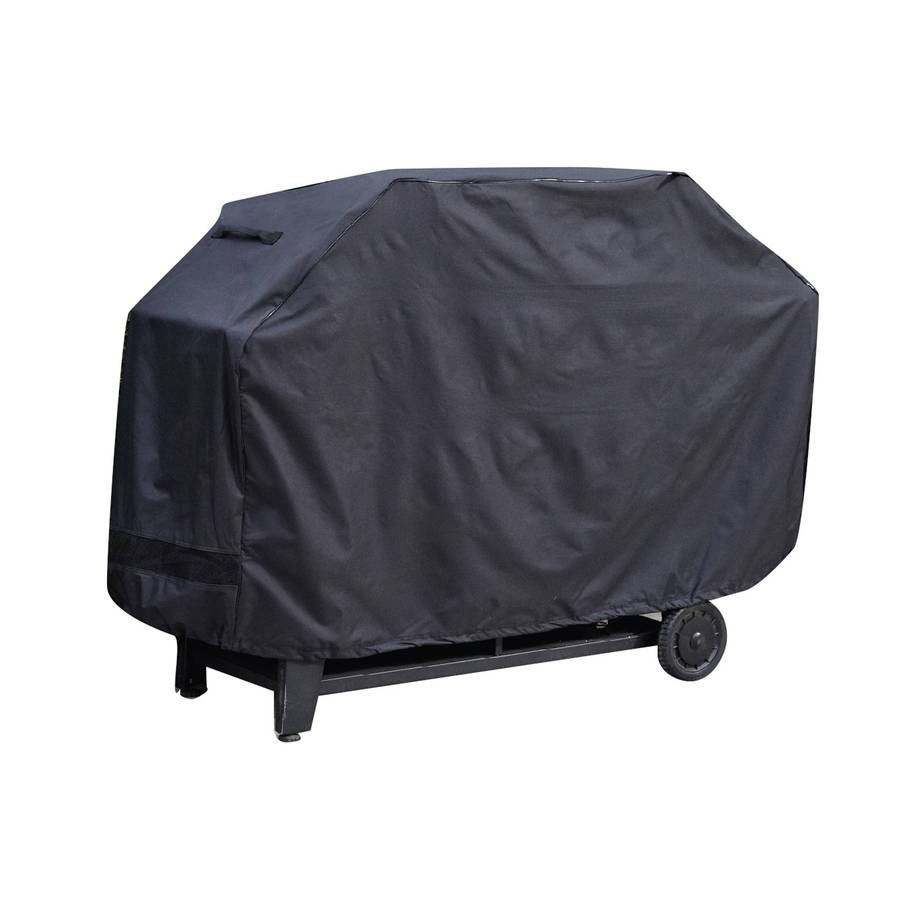 Smoke Canyon 68 In X 42 Polyester Charcoal Grill Cover