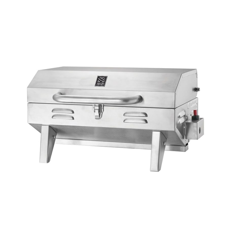 Master Forge Outdoor Kitchen Lowes: Master Forge 12,000-BTU 198-sq In Portable Gas Grill At