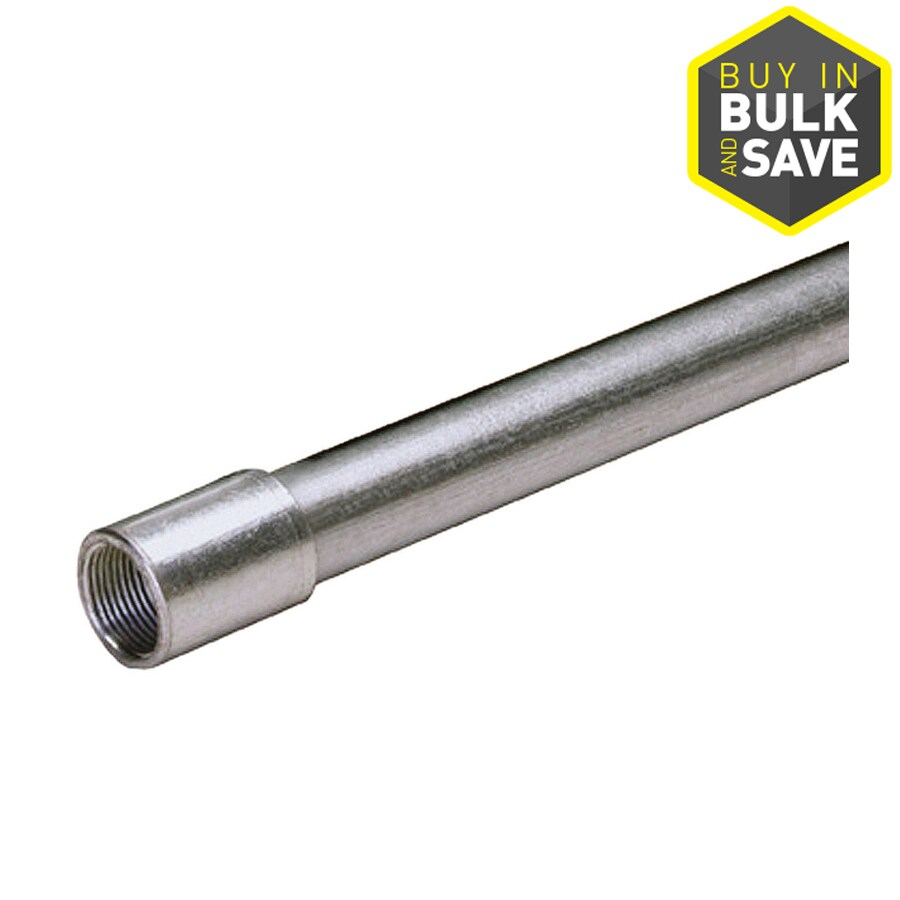 (Common: 1/2-in; Actual: .50-In) Metallic Rigid 10-ft Conduit