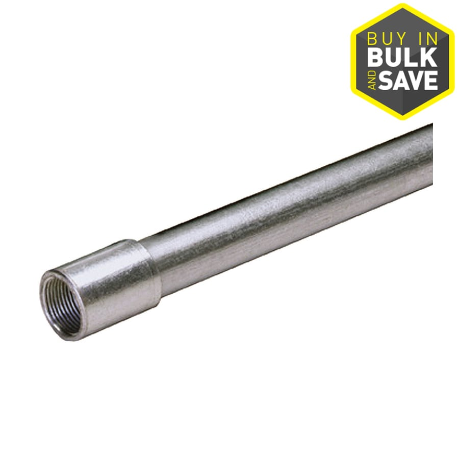 (Common: 3/4-in; Actual: .75-In) Metallic Rigid 10-ft Conduit