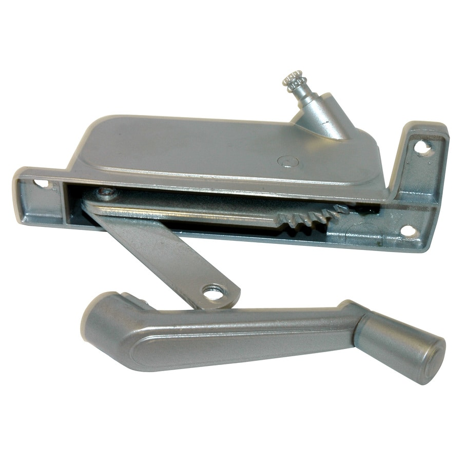 Barton Kramer 5-1/4-in Silver Coated Aluminum Awning Window Operator