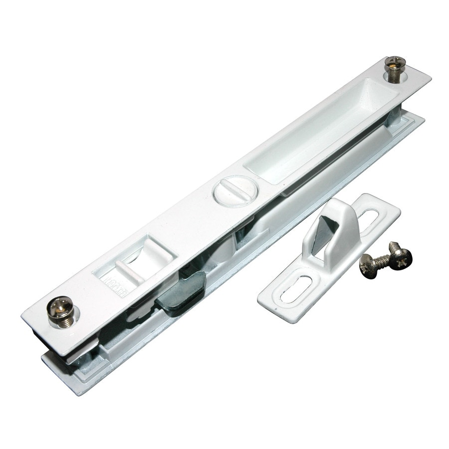 Barton Kramer 6.625 In Surface Mounted Sliding Patio Door Handleset