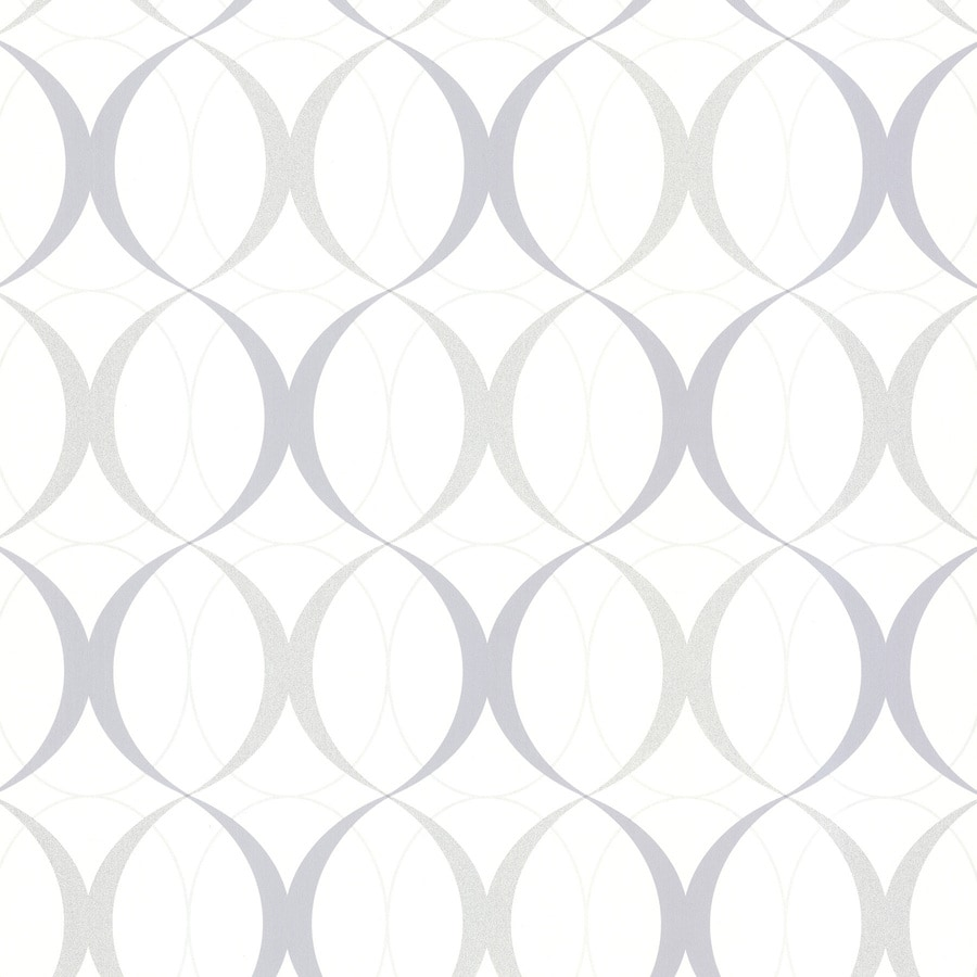Brewster Wallcovering Kitchen and Bath Resource III White Non-Woven Geometric Wallpaper