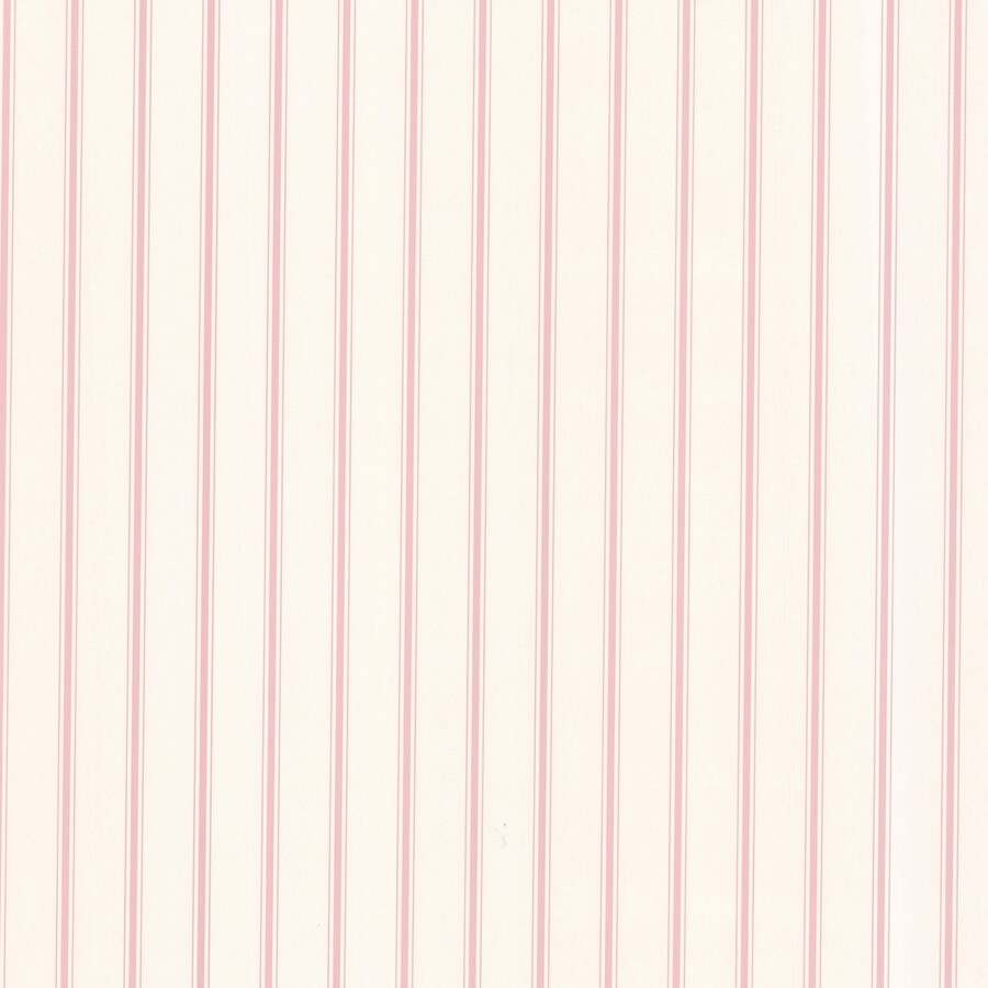 Brewster Wallcovering Kitchen and Bath Resource III White Vinyl Stripes Wallpaper