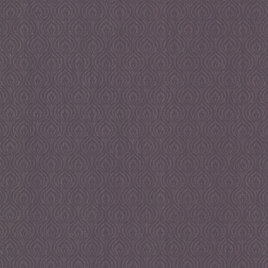 Brewster Wallcovering Aubergine Non-Woven Geometric Wallpaper