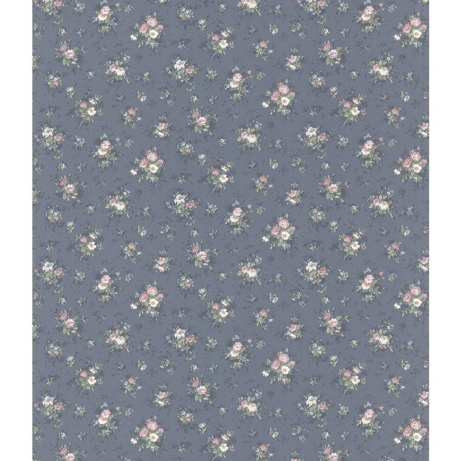 shop brewster wallcovering mini floral print sidewall wallpaper at