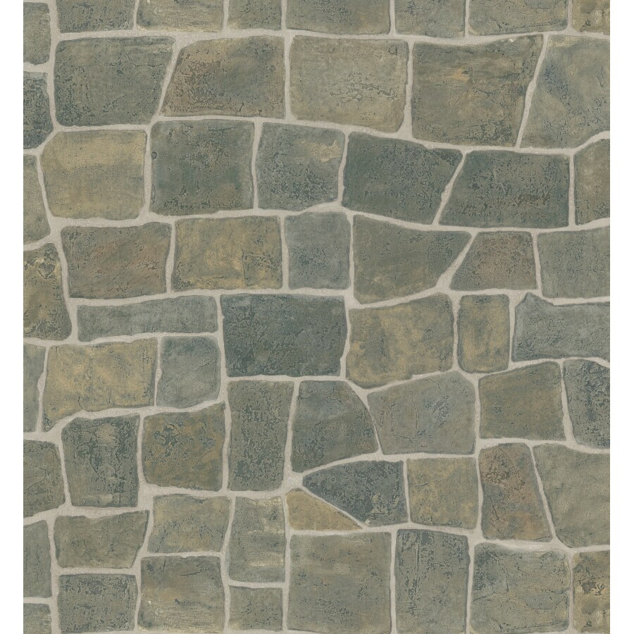 Brewster Wallcovering Faux Brick Wallpaper at Lowes.com