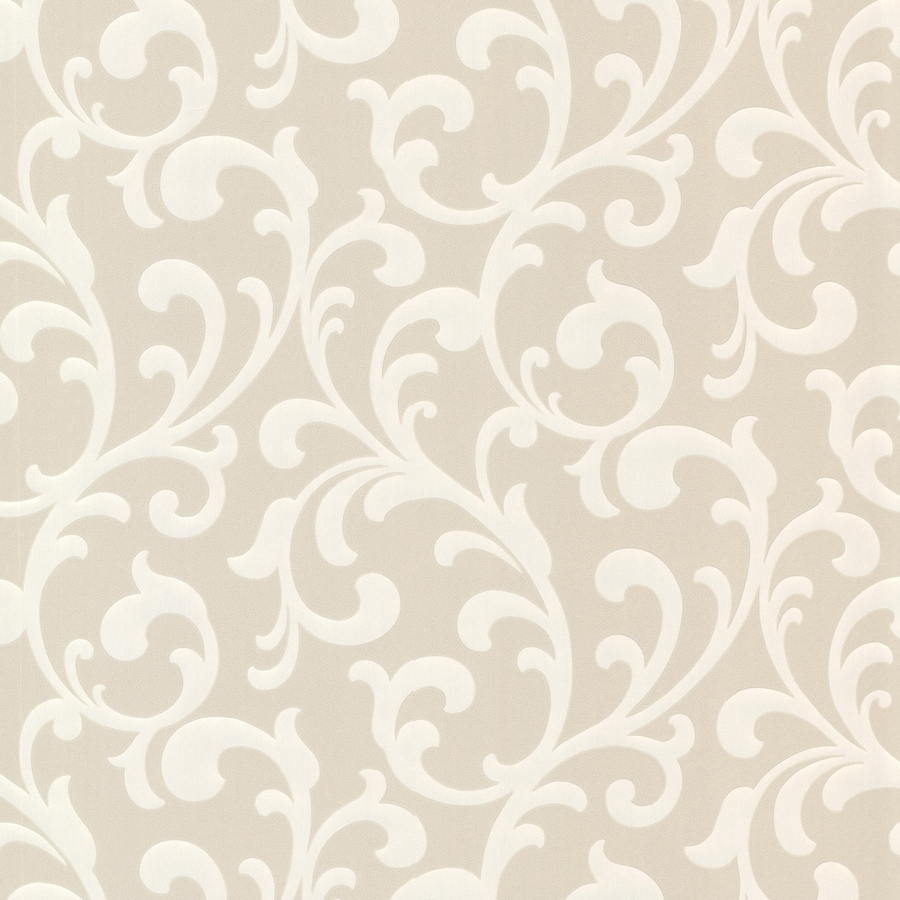 Brewster Wallcovering Elements Champagne Non-Woven Ivy/Vines Wallpaper