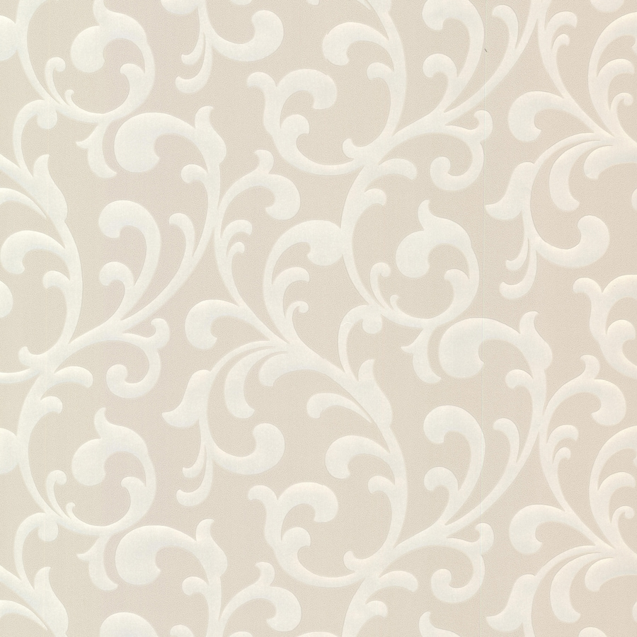 Brewster Wallcovering Elements Beige Non-Woven Ivy/Vines Wallpaper