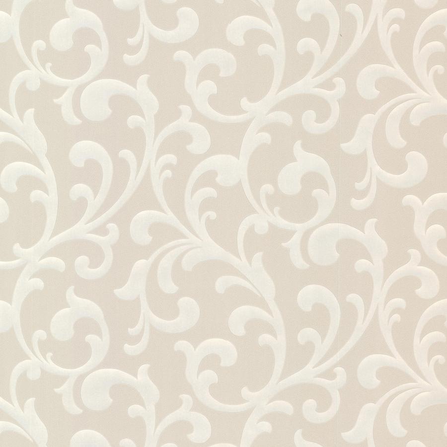 Brewster Wallcovering Beige Paper Ivy/Vines Wallpaper