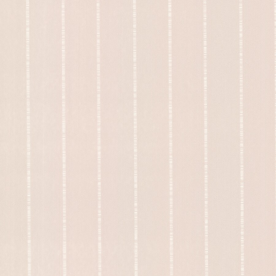 Brewster Wallcovering Elements 56-sq ft Grey/Peach Non-Woven Stripes  Wallpaper